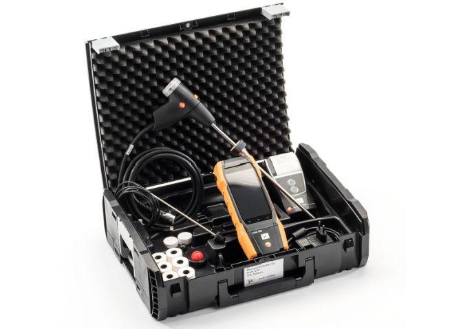 Testo 300 Abgasmessgerät im DynaCase