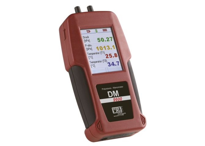 Druck-, Differenzdruck- und Temperaturmessungen