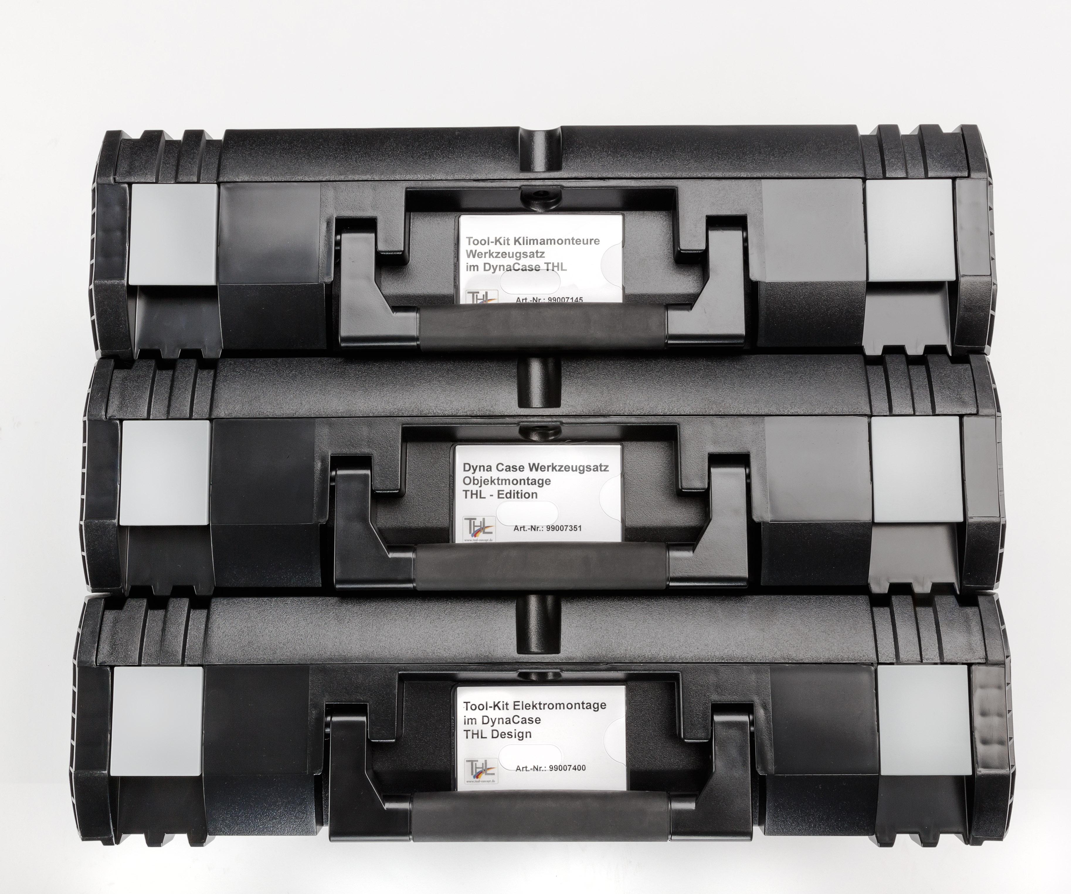 Beschriftungsfeld zur sicheren Identifikation Ihres Werkzeugkoffers