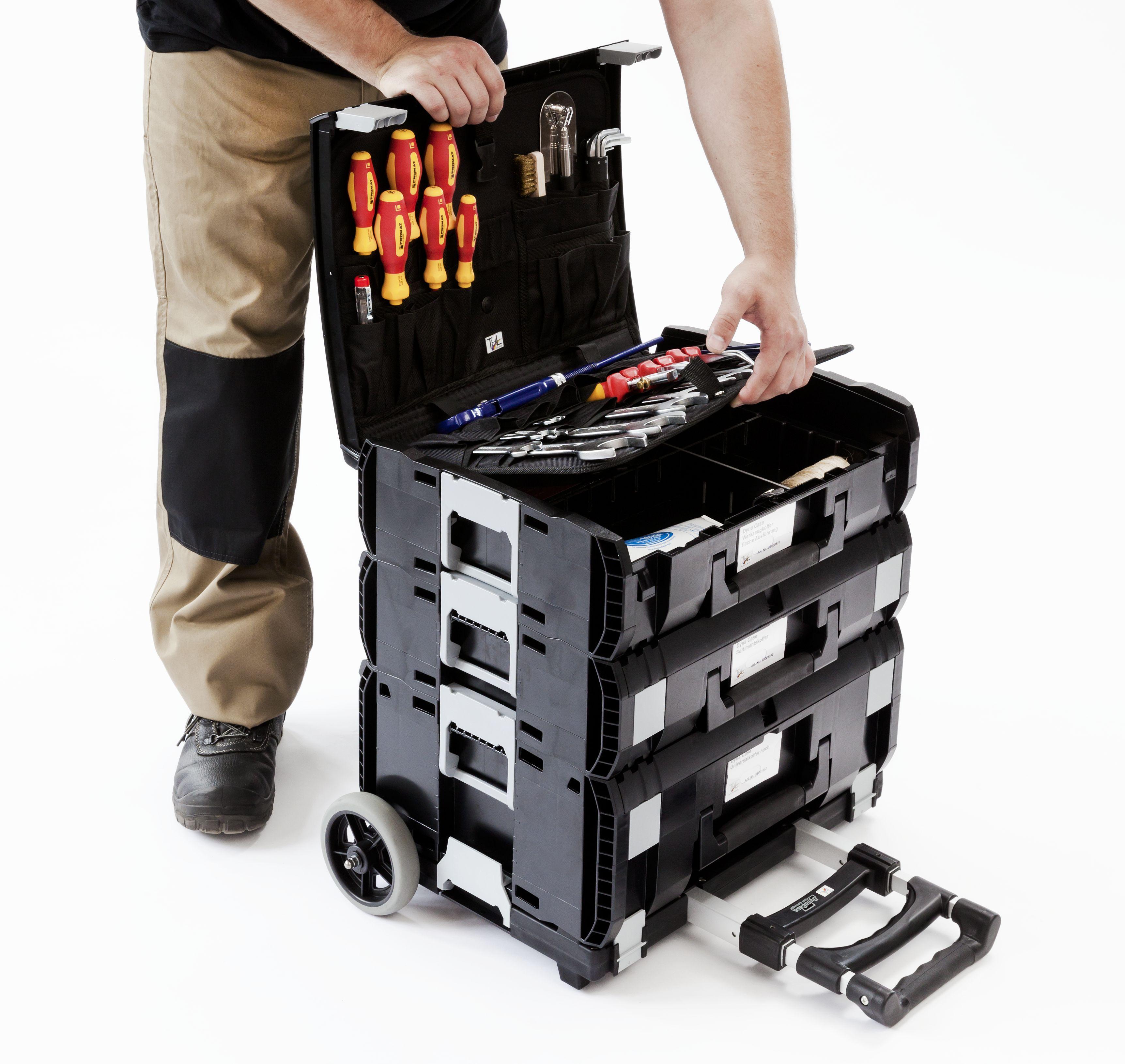 DynaCase Trolly mit Werkzeugkoffer