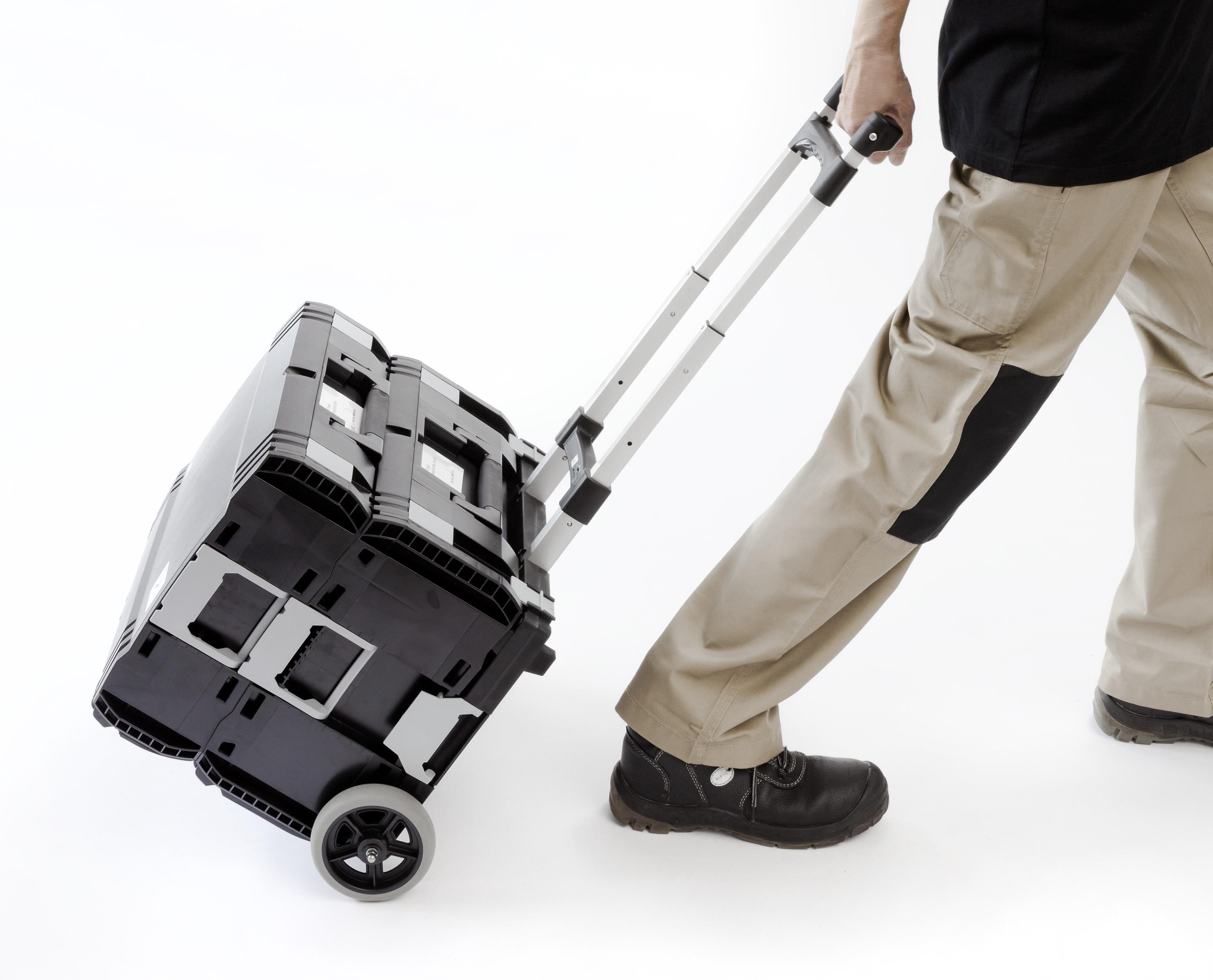 Patentierte Steckverbindung für Ihren einfachen Transport