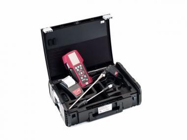Abgasmessgerät im DynaCase Koffer