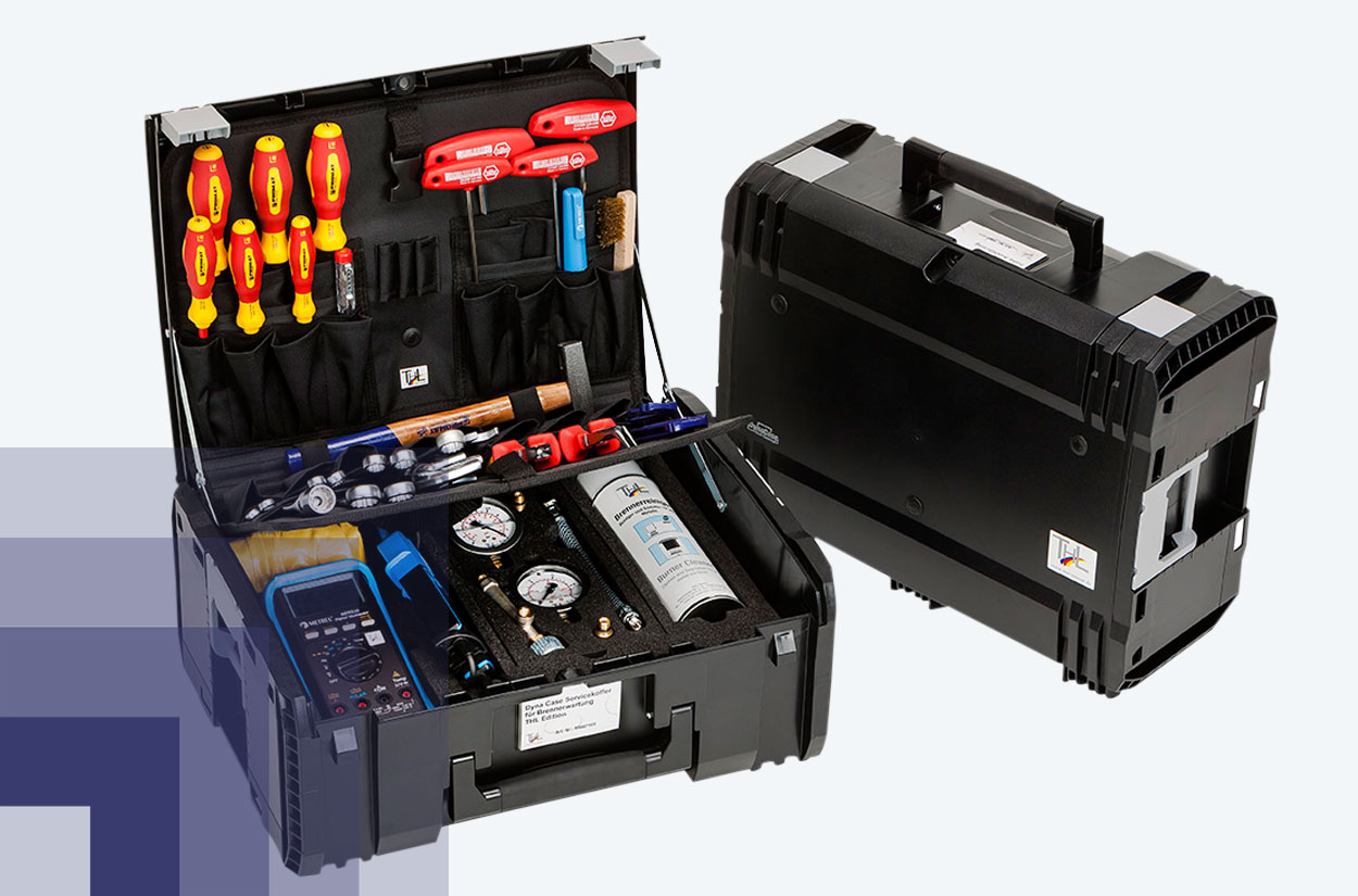 Tool-Kits Brennerwartung Werkzeugsets